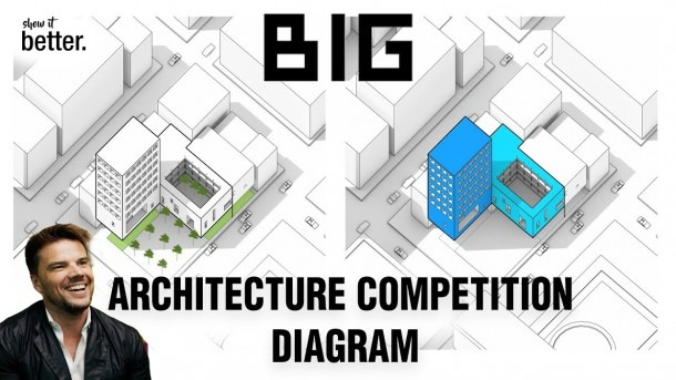 Big Architecture Competition Diagram Style By Show It Better