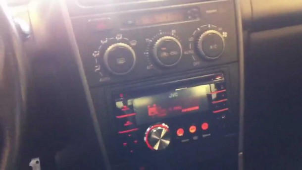 2001 Lexus Is300 Radio Replacement Jvc Kw