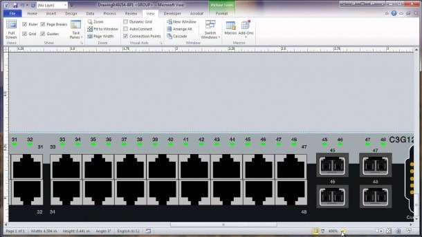 Visio 2010 Network Rack Diagram Tutorial