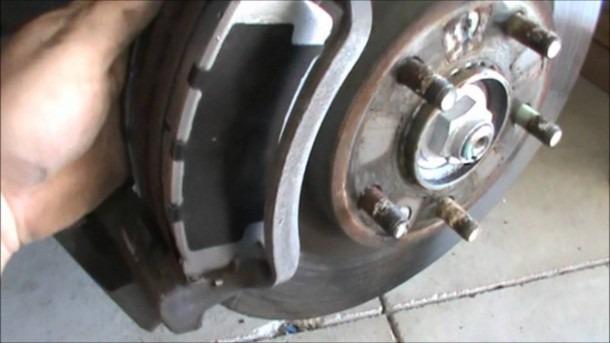 Ford Fusion Brake Change