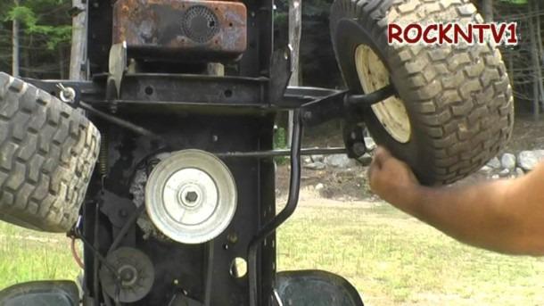 Garden Tractor Wheel Alignment