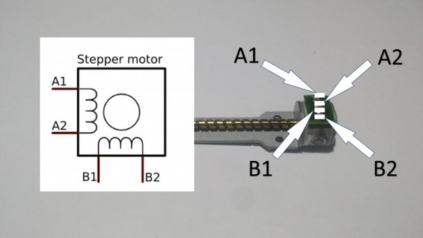How To Test Code Arduino Bipolar Stepper Motor 2 Coil 4 Wires