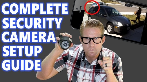 Home Security Camera System Surveillance Setup  How To Best Diy Ip