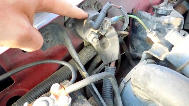 1994 Ford F150 5 8l Efi Starter Solenoid Relay Location