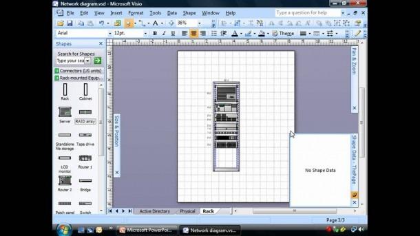 Creating Rack Diagrams Using Visio