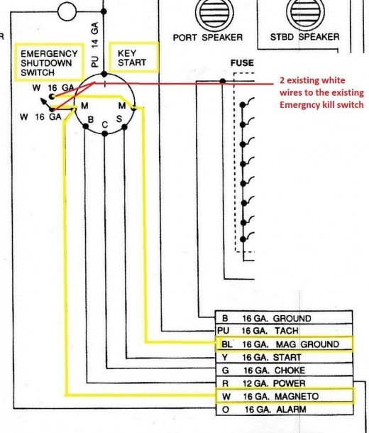 Johnson Outboard Electric Motor Wiring Diagrams