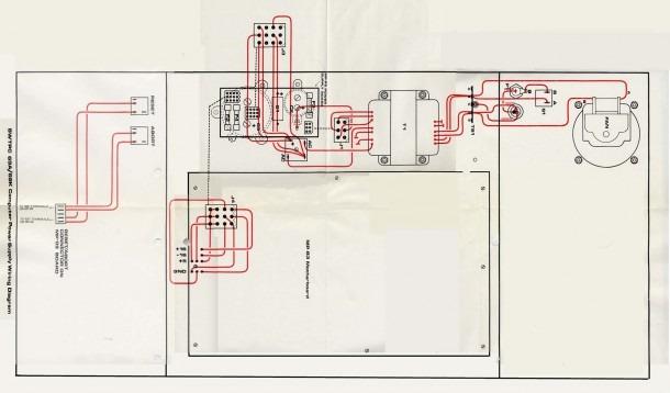 Computer Power Supply Wiring Diagram