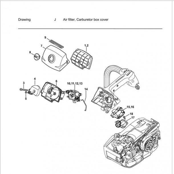 Stihl 034 Av Parts Diagram