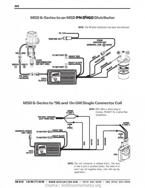 Msd Starter Wiring Diagram New Msd Distributor Wiring Diagram