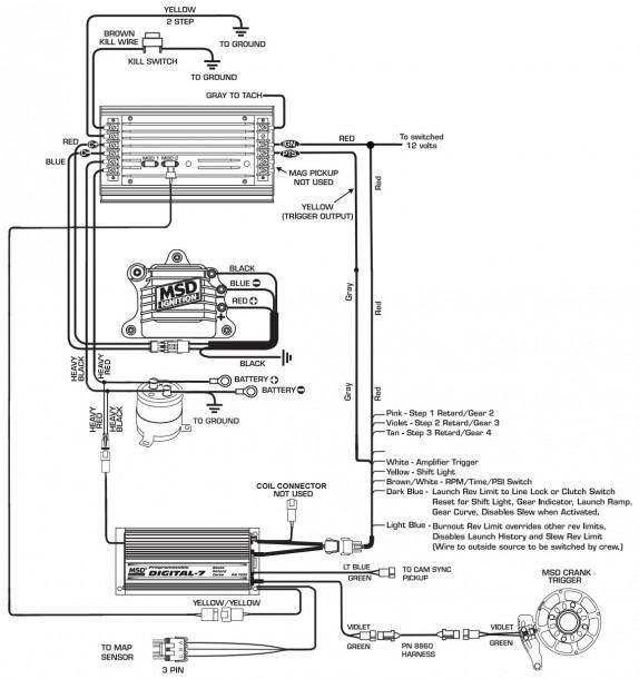 Msd Digital 6 Wiring Diagram