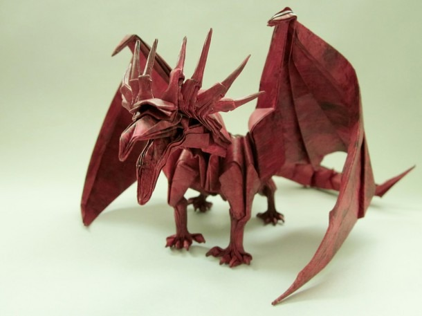 Get Fired Up For These Incredible Origami Dragons