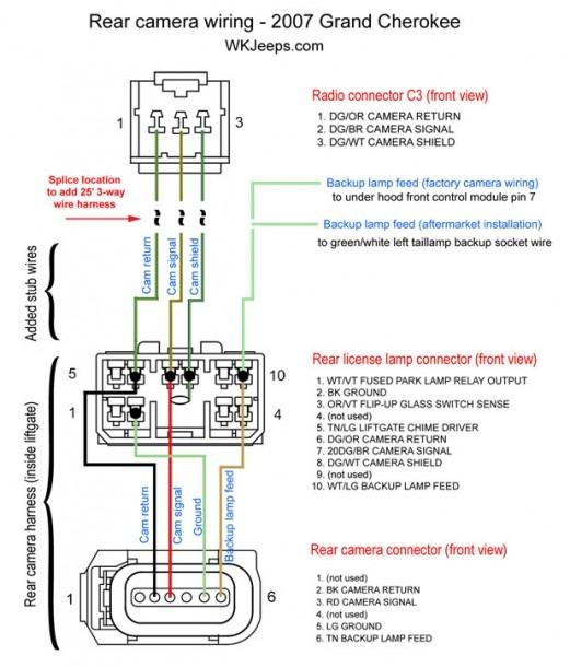 2008 Jeep Commander Wiring Diagram
