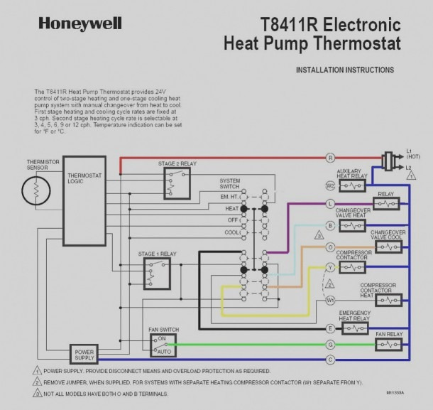 Pictures Of Heat Pump Trane Thermostat Wiring Diagram In Color