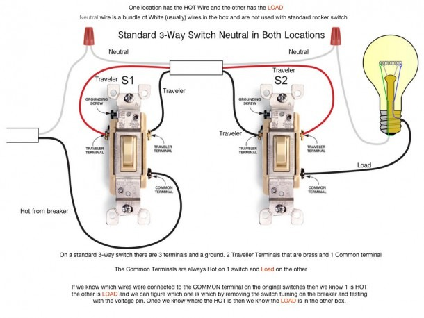Two Lights One Switch Wiring Diagram