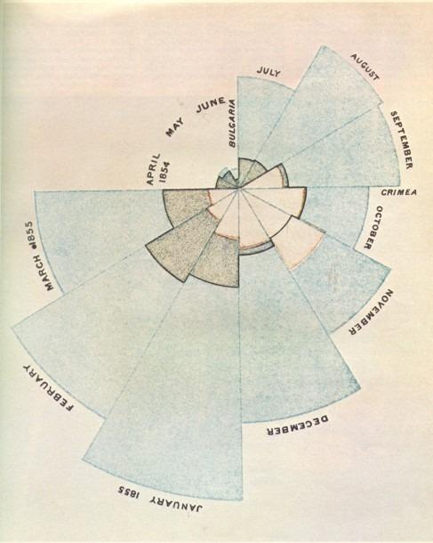 Florence Nightingale's Pie Chart