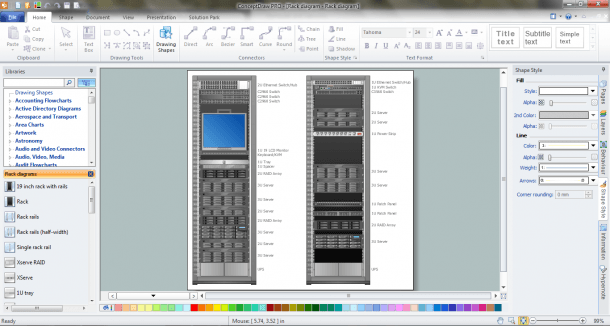 How To Convert A Visio Stencils For Use In Conceptdraw Pro