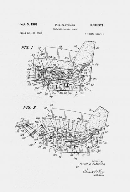 Lane Rocker Recliner Parts Diagram