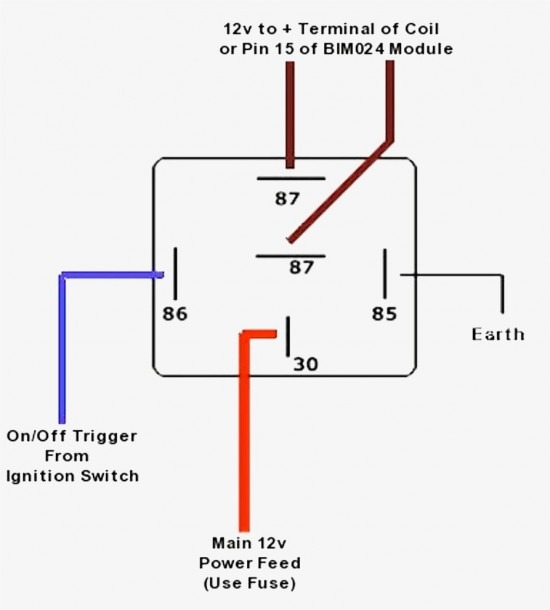 12vdc Relay Diagram