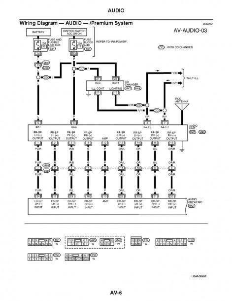2006 Nissan Sentra Radio Wiring Diagrams