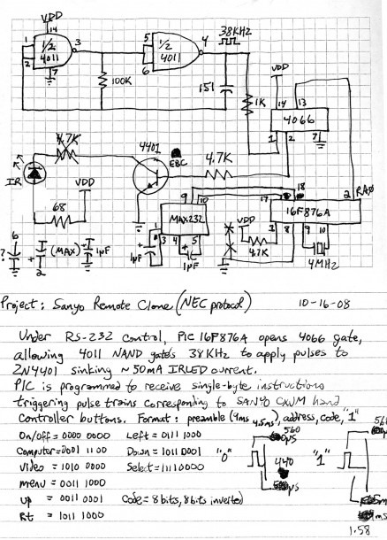 Simple Remote Control Car Wiring Diagram