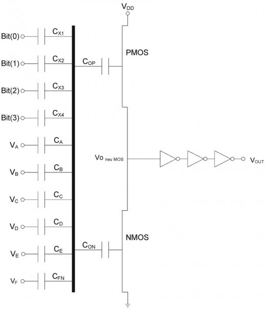 Schematic Diagram Of The Universal Circuit Used For Logic Gates