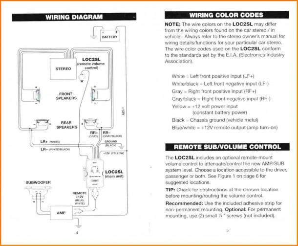 Beautiful Scosche Line Out Converter Wiring Diagram 89 For Your