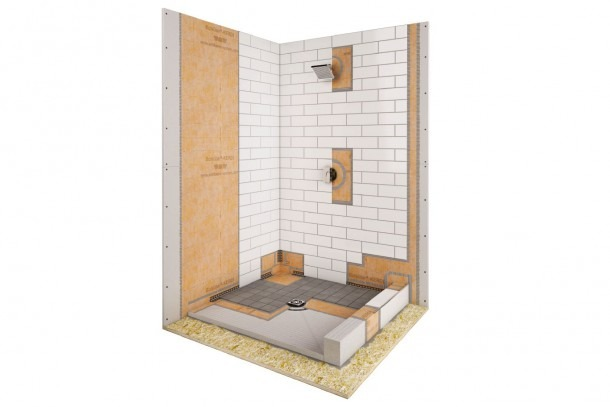 Shower Stall Schematic