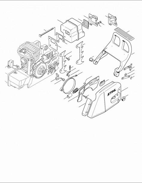 Stihl Leaf Blower Parts Diagram Stihl Leaf Blower Parts Diagram
