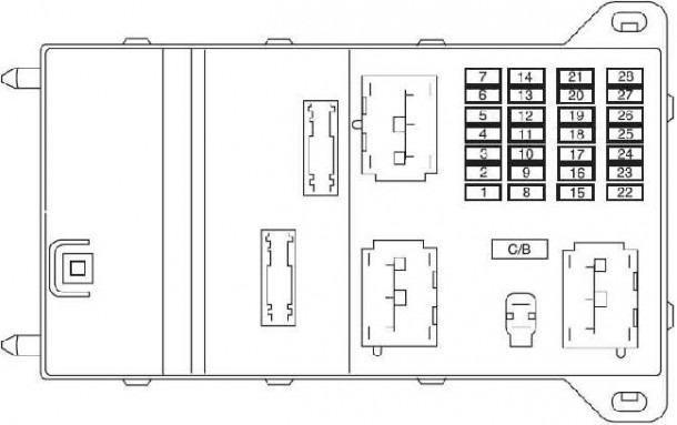 Fusion Fuse Box Diagram