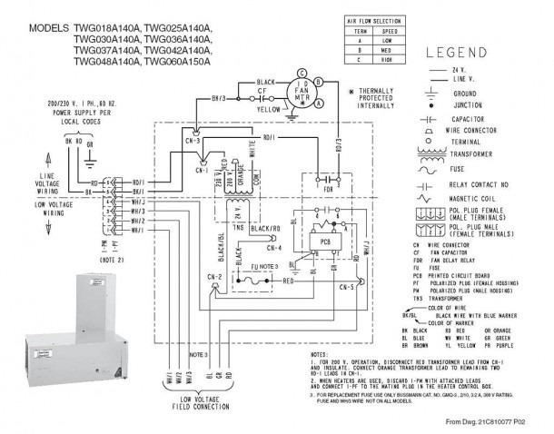 Trane Wiring Diagram