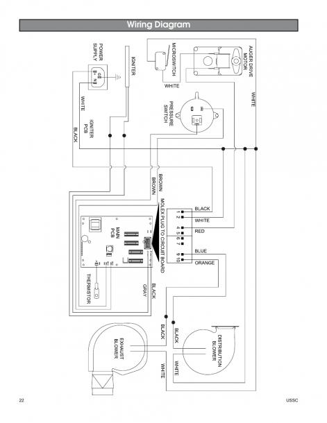 Pellet Stove Wiring Diagram