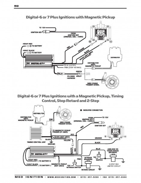 msd digital 6 wiring diagram for vw  wiring diagram
