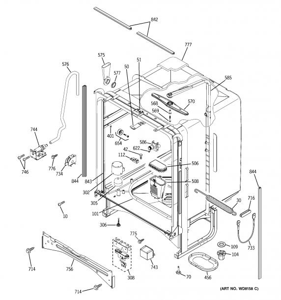 Enticing Ge Gldambb Dishwasher User Manual Ge Dishwasher Gldambb