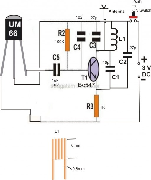 Wireless Car Diagram