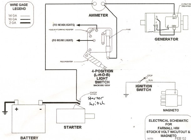 6 Volt To 12 Volt On Wire Conversion Wiring Diagram