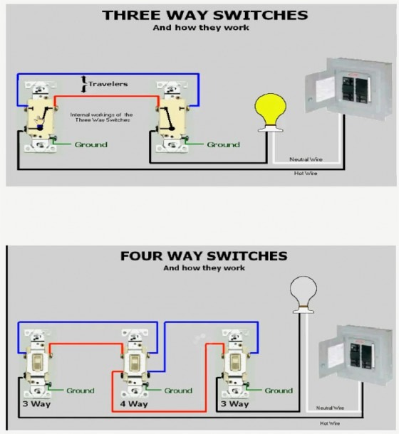 Wiring Diagram For 3 Way Switch Me And Switches