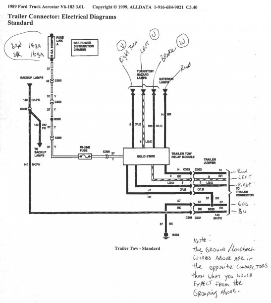 Boat Trailer Wiring Harness Diagram