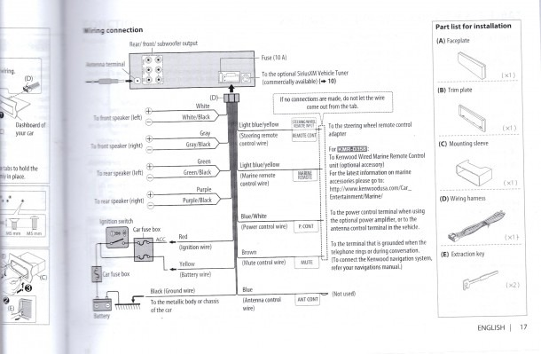 Kenwood Ddx470 Wiring Manual