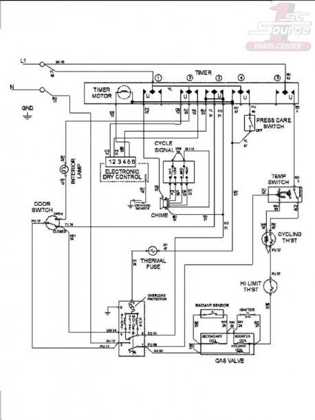 Maytag Dryer Wiring Diagram Pigtail