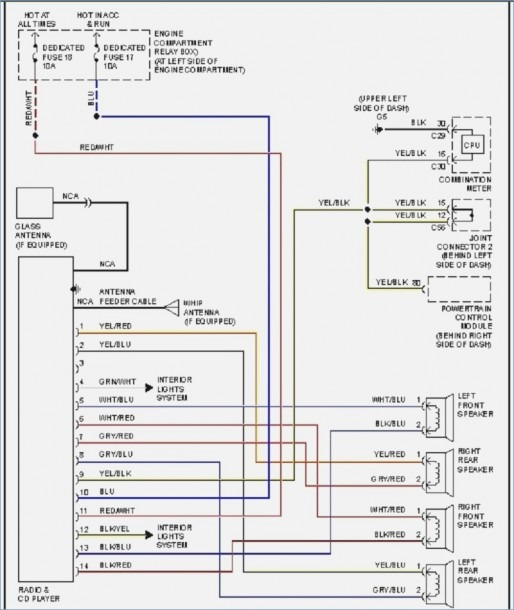 Stereo Wiring Diagram For 2002 Mitsubishi Eclipse