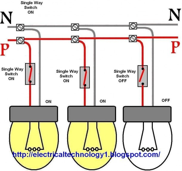 Wiring Two Lights To One Switch Diagram Ytech Me Within For