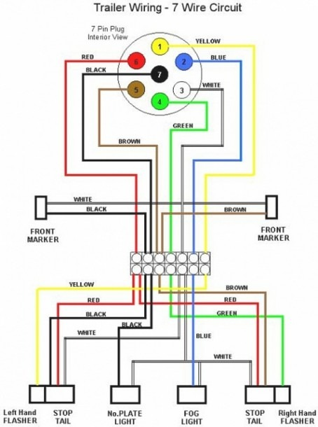 Trailer Light Wiring Diagram 4 Way