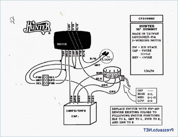 3 Speed Ceiling Fan Motor Wiring Diagram