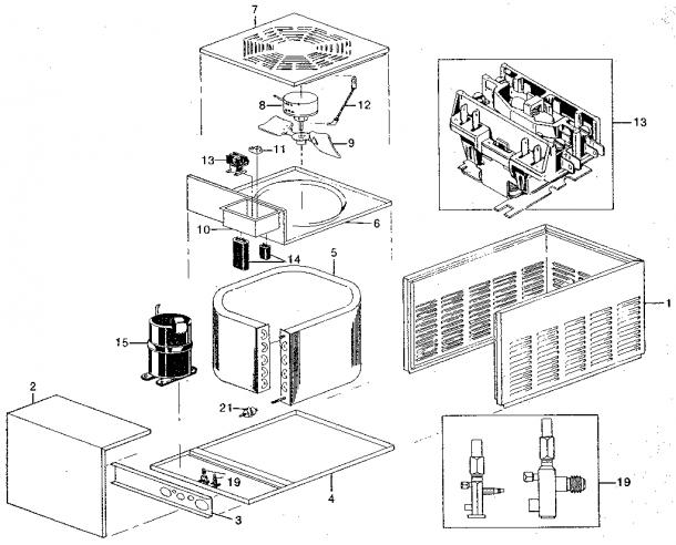 Rheem Model Raca Air