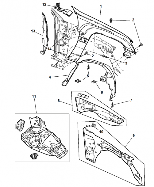 2001 Jeep Grand Cherokee Laredo Rear Suspension Diagram – Suspension