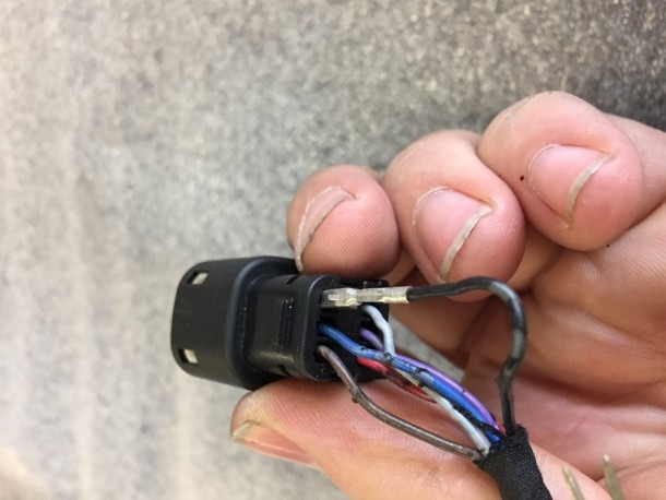 How To Remove  Throttle By Wire Plug