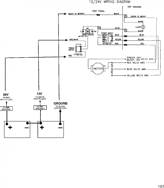 Model A 12 Volt Wiring Diagram
