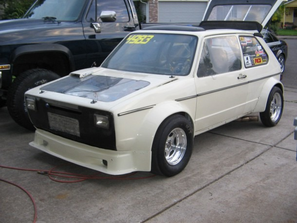 1983 Volkswagen Rabbit Gti 1 4 Mile Drag Racing Timeslip Specs 0