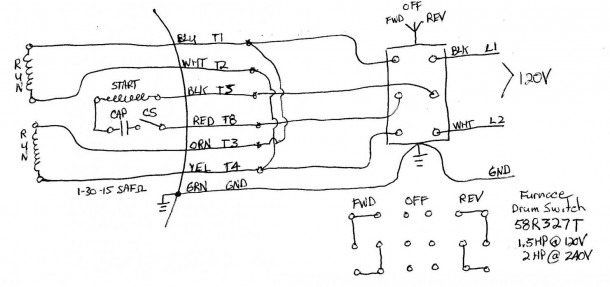 Gould 1 Hp Motor Wiring