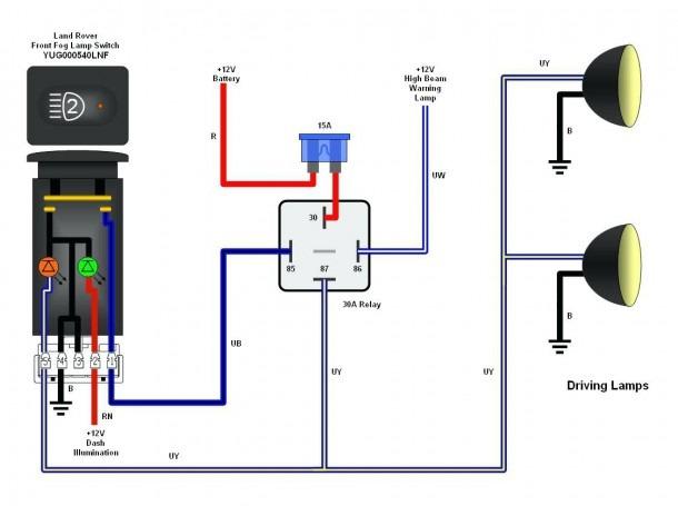 Switch 5 Wire Relay Diagram